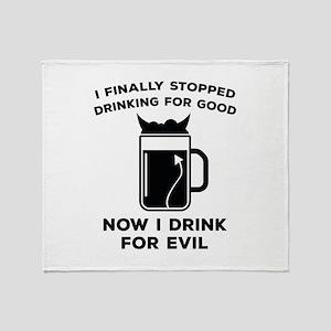 Stopped Drinking For Good Stadium Blanket