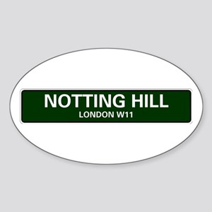 LONDON ROAD SIGNS - NOTTING HILL - LONDON Sticker