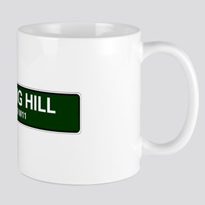 LONDON ROAD SIGNS - NOTTING HILL - LONDON W11 Mugs
