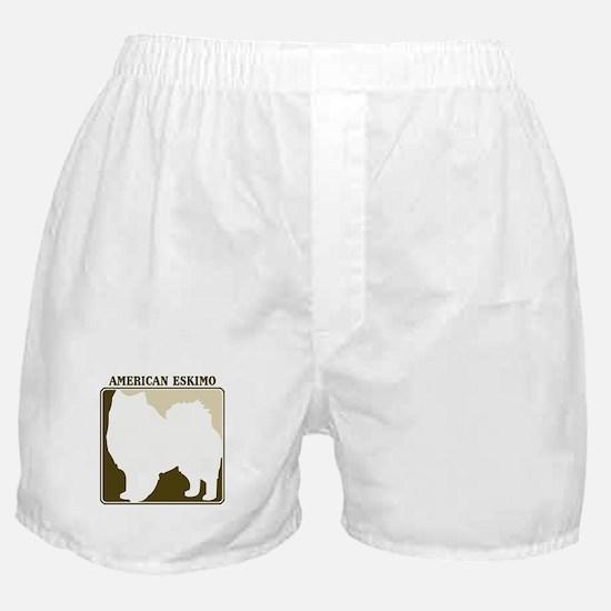 Professional American Eskimo Boxer Shorts