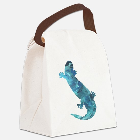 Cool Acrylics Canvas Lunch Bag
