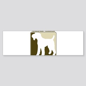 Professional Airedale Terrier Bumper Sticker
