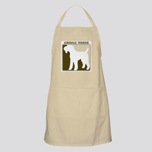 Professional Airedale Terrier BBQ Apron