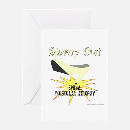 SPINAL MUSCULAR STROPHY AWARENESS Greeting Card