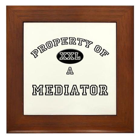 Property of a Mediator Framed Tile