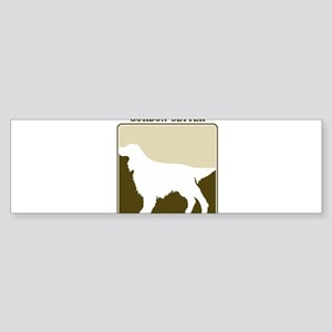 Professional Gordon Setter Bumper Sticker