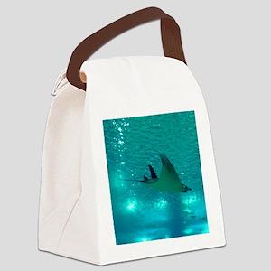 MANTA RAY 1 Canvas Lunch Bag