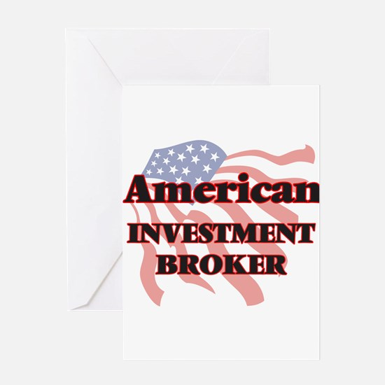 American Investment Broker Greeting Cards