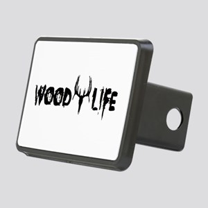 Wood Life 2 Rectangular Hitch Cover