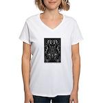 In Spaces Between Women's V-Neck T-Shirt