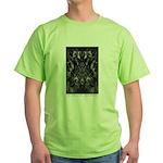 In Spaces Between Green T-Shirt
