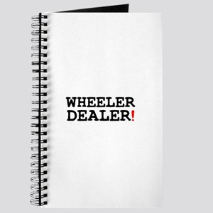 WHEELER DEALER! Journal