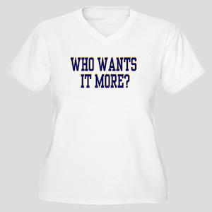 We Do. Women's Plus Size V-Neck T-Shirt
