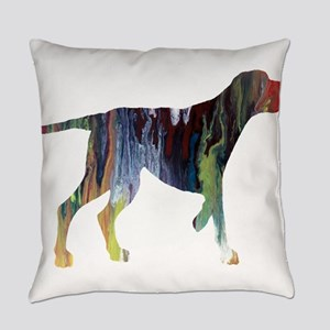Hunting dog Everyday Pillow