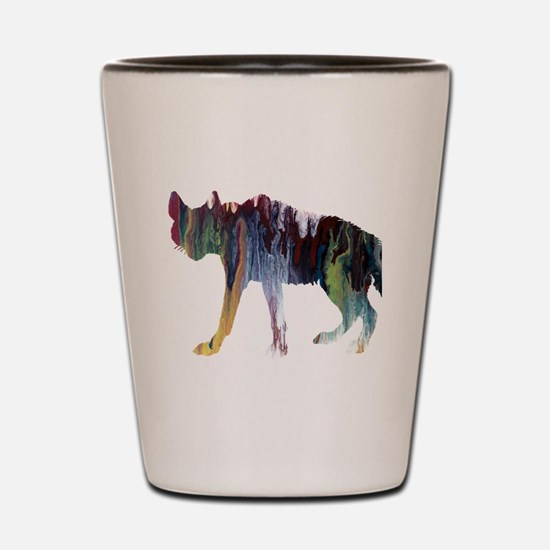 Unique Abstract color Shot Glass