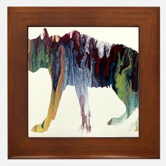 hyena Framed Tile