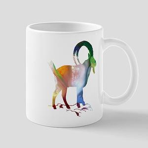 wild goat Mugs