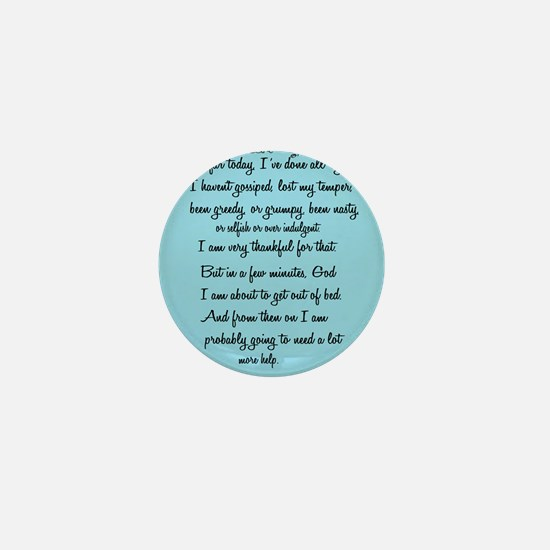 Cute Funny prayer Mini Button