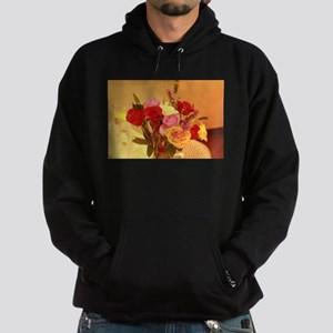 bouquet of roses Hoodie (dark)