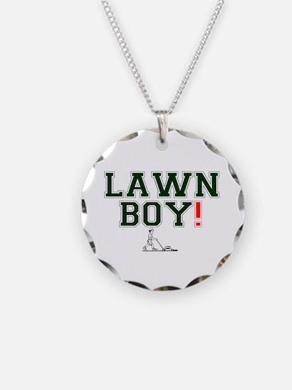 LAWN BOY! Necklace