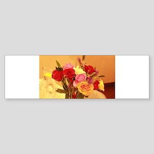 bouquet of roses Bumper Sticker