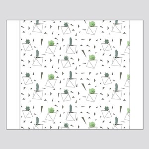 Succulents and Triangles Posters