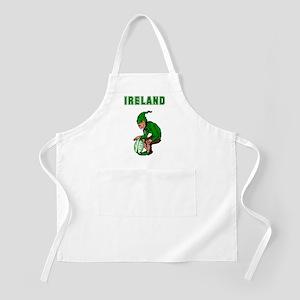 Irish Rugby BBQ Apron