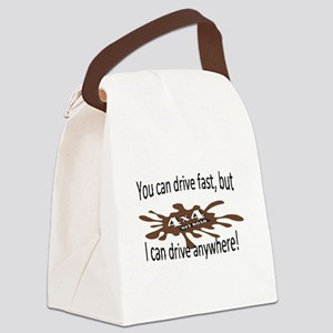 4x4 Canvas Lunch Bag