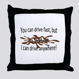 4x4 Throw Pillow