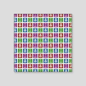 "IT'S A BOY! Square Sticker 3"" x 3"""