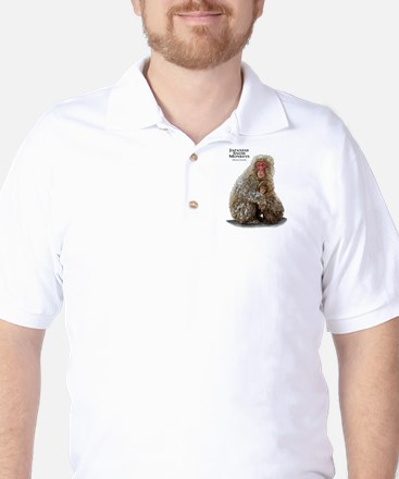 Japanese Snow Monkeys Golf Shirt