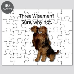 Don't mistake these three as wisemen Puzzle