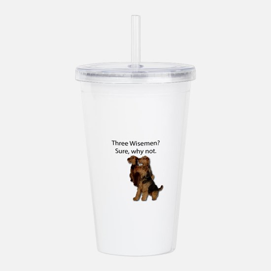 Don't mistake these th Acrylic Double-wall Tumbler