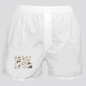 Coffee Coffee Coffee Boxer Shorts