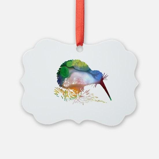 Cute Bird art Ornament