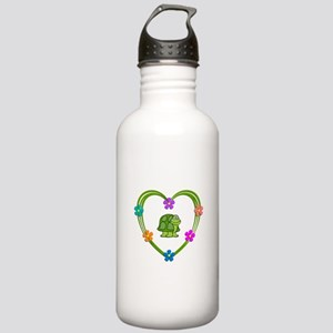 Turtle Heart Stainless Water Bottle 1.0L
