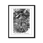 Wilbur Whateley Framed Panel Print