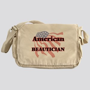 American Beautician Messenger Bag