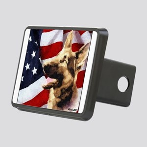 German Shepherd Art Hitch Cover
