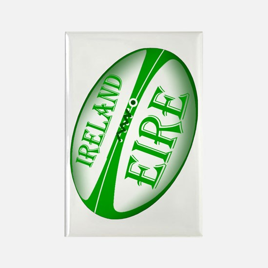 Eire Ireland Rugby Rectangle Magnet