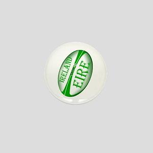 Eire Ireland Rugby Mini Button