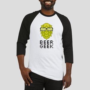 Beer Geek Baseball Jersey