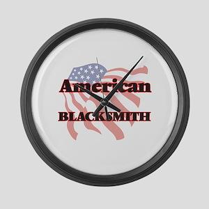American Blacksmith Large Wall Clock