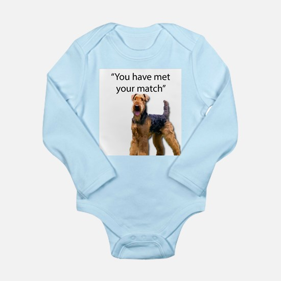 Airedale Terrier Says You've Met Your Ma Body Suit