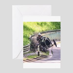 BUGATTI T13 CRASH Greeting Cards