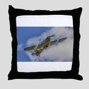 HURRICANE FLYING Throw Pillow