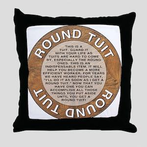 roundtuit Throw Pillow
