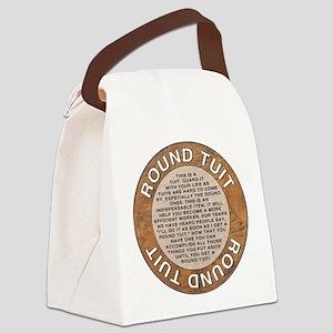 roundtuit Canvas Lunch Bag