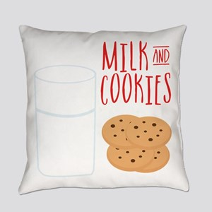 Milk And Cookies Everyday Pillow