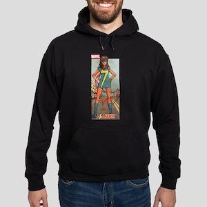 Ms Marvel Standing Hoodie (dark)
